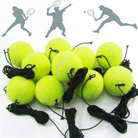Resistance Bands Professional Tennis Training Ball With 4m Elastic Rope Rebound Practice String Portable Train Balls