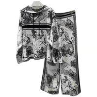 21 Femmes Tracksuits Designers Vêtements Pour femmes Sweatshirts Sweatshirts Mens Tracksuit Manteaux ou Pantalons Vêtements Sweater Sweater 2-Pièces