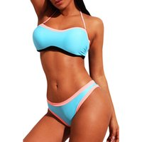 Bikini Duramon Low NE senza montagne d'acciaio MOP Coaster Triangolo a vita rimovibile Triangolo grande Swimsuit diviso 410674