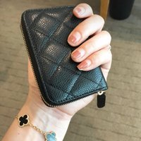 Genuine cow leather Messenger bags Top Quality brand fashion vintage credit ID card holder with business card case coin purse card bag