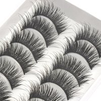 False Eyelashes 10 Pairs Of With Thick And Long