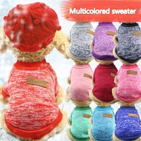 Dog Apparel Multi-color Optional Classic Fashionable Sweater, Sanitary Clothes, Pet Dog, Cat, Kitty Autumn And Winter Styl