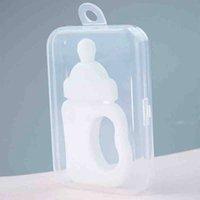Bambino sicuro BPA gratis teether giocattoli giocattoli dentizione anello in silicone masticare dentisco cura spazzolino da denti da denti perline perline regalo per infantile