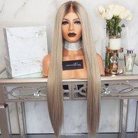 ارتفاع درجة الحرارة الألياف طويلة مستقيم الشعر الإناث التدرج الفضة البني عبر الحدود الأوروبية والأمريكية نمط الباروكة بقعة ارتفع صافي شعر مستعار عامل