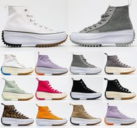 [С коробкой] льготный 2021 Converse 1970 thick-soled loose jagged tooth high-top JW joint J.W. Anderson x Converse chuck Run Star Hike 1970s canvas shoes