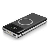 Power Bank 30000mAh Externe Batteriebank Powerbank Wireless Ladegerät eingebautes Portable iQ Wireless-Ladegerät für iPhone X XR X-MAS