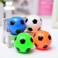 الغزل العلوي رقم 50 كرة القدم حلية الضغط اللون مختلط حزمة الأطفال لغز البيض الكرة سبينر