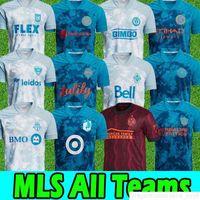 2021 MLS Soccer Jerseys Inter Miami Lafc Toronto Orlando X Parley Austin Philadelphia Union Columbus Atlanta Vancouver Whitecaps D.C.