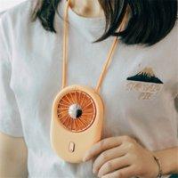 Mini-Handheld-Neck-Fan tragbar mit USB-Gadgets wiederaufladbar Luftkühler Student Outdoor Travel Desktop Kleine Fans Tasche