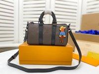 أوريينا عالية الجودة مصممي مصممي حقائب اليد حقائب epnall نانو الرجال السفر monograms التكبير مع الأصدقاء الرسوم الكتف حقيبة crossbody