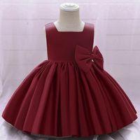 Girls Dresses Children Clothes Kids Clothing Princess Skirts Birthday Bows Party Formal Dress Pettiskirt Costume B7626