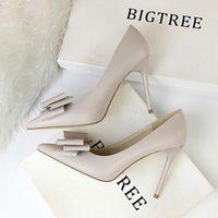 Mujeres bombas zapatos de boda mujer sandalia desnuda moda tobillo correas remaches sexy tacones altos zapato nupcial 34-42 bg051-003