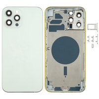 Back Housing Cover with SIM Card Tray & Side keys Camera Lens for iPhone 12 Pro Max
