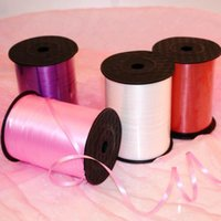 Party Decoration Balloon Ribbon Roll Kids Toys Crafts Foil Curling Multi Color 5mm DIY Gifts Wedding Supplies 250 Yards