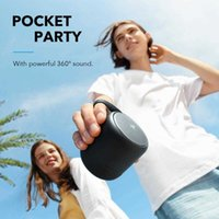 Anker Soundcore Mini 3 Bluetooth Speaker Bas and PartyCast Technology USB-CWaterproof IPX7and Customizable EQ