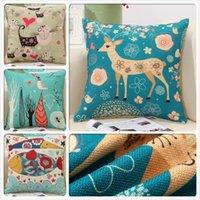 Cartoon-figur 18 zoll kissen abdeckung home dekorative sofa sitz zurück kissenbezug auto büro stuhl lumbal kissencover 45 * 45 cm kissen / dekor