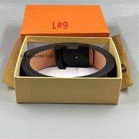 2021 Fashion Big Fibbia Genuina Cintura in pelle con box Designer Uomo Donna di alta qualità cinture da uomo AAA6688