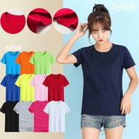 Combed cotton T-shirt printed advertising t-shirt