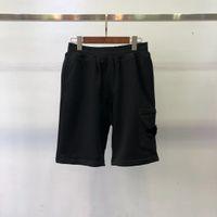 Männer shorts sommer klassische steinhosen mode outdoor baumwolle cargo shorts island badge buchstaben mittleren hosen hip hop fünfte hosen casual männer