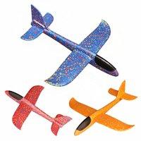 Doppelloch-Gleitflugzeug Flugzeug Module Spielzeug Handwerfen Kinder Spielzeug Junge Kleines Geschenk