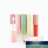 5Pcs 3ml Lipgloss Bottles Lip Glaze Tubes Gradient Empty Lip Gloss Tube Packaging DIY Refillable Lip Glaze Containers Makeup Factory price expert design Quality