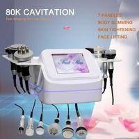 80K Cavitation Machine Ultrasonic Slimming Fat Burning Cellulite Removal Vacuum RF Cavi Lipo Body Contouring Device High Quality