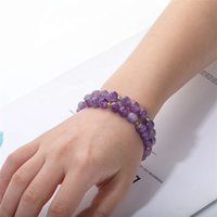 8mm Fashion Bead Bracelet Natural Stone Healing Crystal Stretch Beaded Bracelet Women Men Handmade Gemstone Jewelry 2924