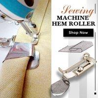 Sewing Notions & Tools Machine Hem Roller Chzimade Overlock Folder All Size Hemmer BIinder Parts Presser Foot Accessories