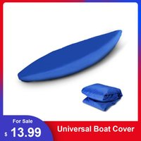Rafts Inflatable Boats Professional Universal Boat Cover Kayak Canoe Waterproof UV Resistant Dust Storage Shield For Inflatable