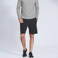 Pantalones cortos para hombres deportes fitness capris rápido seco luz elástica verano correr gimnasio ropa hombres ropa interior ejercicio casual pantalones calientes