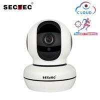 카메라 Sectec 클라우드 스토리지 1080p IP 카메라 지능형 자동 추적 스마트 홈 보안 감시 네트워크 WiFi 베이비 모니터