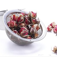 304 Stainless Steel Tea Strainer Tea Pot Infuser Mesh Ball Filter With Chain Tea Maker Tools Drinkware Wholesale