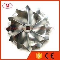 HX40 3590929 59.95 / 86.01mm 6 + 6 Cuchillas Rendimiento TurboCompresor Turbo Billet Rueda de compresor / aluminio 2618 / Rueda de fresado para cartucho / chra / núcleo