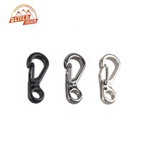 Wholesale-Mini SF Spring Claps Climbing Carabiners Keychain Camping Bottle Hooks Backpack Climbing Claps Tactical Survival Gear
