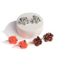 Bonito Adorável Handmade Polímero Clary Brincos para Mulheres Sweet 3d Sucultas Pequenas Brincos de Argila Brincos
