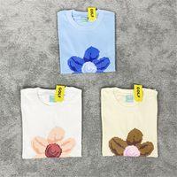 T-shirt da uomo Mens Designer T Shirt Digi Tee Pixel Flower Ins T-shirt manica corta High Street Casual