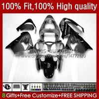 Bodywork de inyección para Kawasaki Ninja ZX-9R ZX900 900CC 1998-2003 Cuerpo 25NO.134 ZX9 9 R ZX 9R 900 CC ZX9R Metallic Gray 00 01 02 03 ZX-900 2000 2001 2002 2003 Kit de carenado OEM