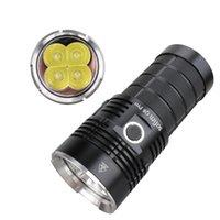 SOFIRN Q8 PRO мощный 11000 Lumen LED Flashlight USB C Rechargeale порт с 4 * Cree XHP50.2 Anduril II