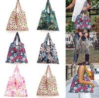حقيبة تسوق كبيرة قابلة لإعادة الاستخدام كيس ايكو بقالة حزمة الشاطئ لعبة تخزين أكياس الكتف التسوق الحقيبة طوي حمل الحقيبة