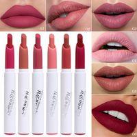 Cmaadu labios labios labios labios labios y lápiz labial de lápiz labial 6 color humectante impermeable cosméticos maquillaje al por mayor lápiz labial mate