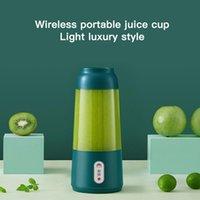 Juicers 300ML Juicer Cup Portable 4 Blade Blender USB Electric Rechargeable Fruit Ice Vegetable Mixer Food Juice Machine