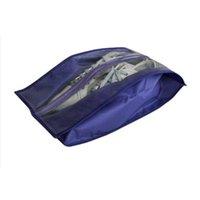 Storage Bags Portable Organizer Shoes Bag PVC Waterproof Dustproof Hanging Save Space Closet Rack Hangers Travel Supplies MOWA889