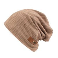 Beanies Autumn Knitted Hat Men Women Warm Oversized For Outdoor Vacation Daily Camping Hiking