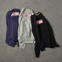 Brand KITH Logo Mens Sweat à sweat à capuchon Pull Sweats à Sweats à capuche Hommes Femmes Sport Lettre Sweat-shirt Streetwear S-XL épais pulls à capuchon Streetwears