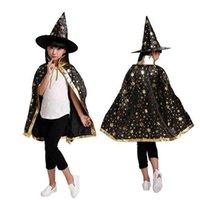 هالوين يتوهم الفنتازيا الرضع الساحرة مع قبعة تأثيري عيد الميلاد الأطفال أطفال زي الفتيات ملابس أغطية الرأس