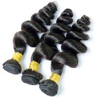 큐티클 정렬 된 단일 기증자 느슨한 웨이브 브라질 머리카락 대량 도매 가격 흑인 여성에 대 한 원시 처리되지 않은 자연 색상