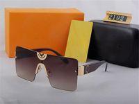 2102 дизайнерские квадратные спортивные очки бренда солнцезащитные очки мужчины женщины старинные вождения поляризованные солнцезащитные очки UV400 велосипедные очки открытый оттенок пляж солнцезащитный стекло с коробкой