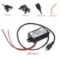 In Stock5 Typen Autotechnik Ladegerät DC Converter Module Single Port 12V bis 5V 3A 15W mit Micro USB-Kabel langlebig