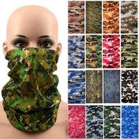Pantalla solar al aire libre bufanda siempre cambiante, alta elasticidad de la elasticidad de camuflaje de camuflaje máscara multifuncional mágica cabeza de cabeza de ciclismo máscaras