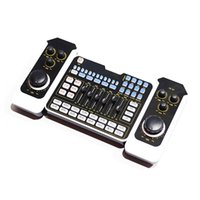 Sound Cards Card Audio Setting Interface External USB Live Microphone Bluetooth (for PC Mobile Phone Singing Game)